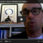 Creativity Q & A:  How to Maintain Your Creative Edge over Time