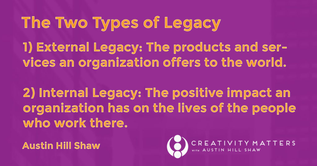 The two type of Legacy with Branding